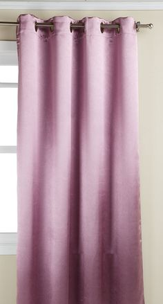 Editex Home Textiles Caroline Window Panel, 55 by 84-Inch, Plum >>> Check out this great product. (This is an affiliate link and I receive a commission for the sales)