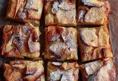Apfelkuchen mit Pudding: geht immer.