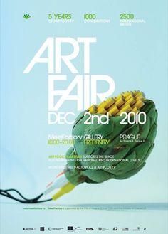 Poster Art fair Artyčok