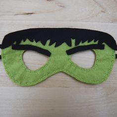 Globers Máscaras de superhéroes en fieltro para niños. Hulk. Cumpleaños y fiestas. Cool parties. Superhero felt masks. Kids. Just Kidding, Rowan, Boy Birthday, Party, Crafts, Diy, Design, Avengers, Superhero