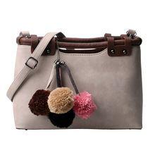 Fashion Fur Tote Bag Women Luxury Handbags Women Bags Designer Rivet Crossbody Bag Colorful Hair Ball Ladies Hand Bags Sac A Dos Luxury Handbags, Fashion Handbags, Crossbody Bag, Tote Bag, Casual Bags, Leather Handbags, Pu Leather, Bucket Bag, Purses And Bags