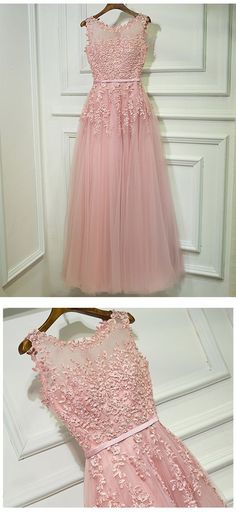 Gorgeous Pink Prom Dress, Prom Dresses For Teens, Graduation Party Dresses, Formal Dresses,4248