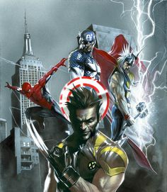 The Avengers - Gabriele Dell'Otto