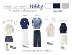 Liz Coderre Photography: What To Wear | Holiday {Second Edition}