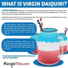 What is a Virgin Daiquiri?