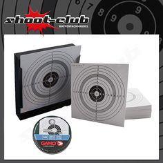 Kugelfangset:50 Zielscheiben+250 Stk. Gamo Rundkugeln Kal. 4,5mm