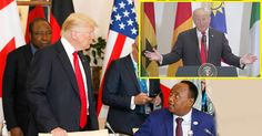 President Trump dug deep today and went all the way back to the racial exploitation of Africa under colonialism, with an attempt to make some kind of stupid joke, and what he probably considers a compliment, while giving a statement at a United Nations lunch for African leaders. He also showed how much he loathes Africans, …