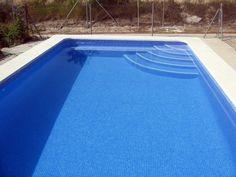 Resultado de imagen de escalera piscina obra