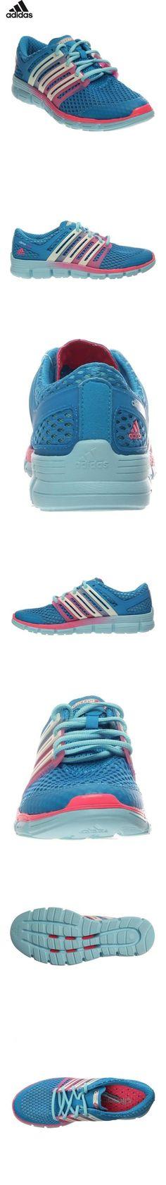 buy popular 7e27c 1c807 59.95 - New Adidas Womens ClimaCool Crazy Running Shoes Solar  BlueWhitePink 10
