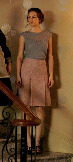 wool pleated skirt classy