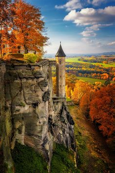 ***Castle Königstein (Saxon Switzerland, Germany) by Dirk Seifert on 500px