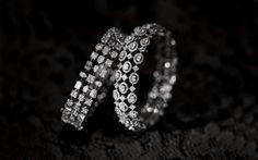 Best Diamond Bracelets : N/A - Fashion Inspire Diamond Necklace Set, Diamond Bracelets, Gold Bangles, Sterling Silver Bracelets, Diamond Jewelry, Silver Jewelry, Indian Wedding Jewelry, Bridal Jewelry, Indian Bridal