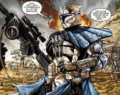 The Alpha-class Advanced Recon Commandos were a group of 100 Advanced Recon Commandos created from Jango Fett's DNA by the cloners of Kamino. The Alpha-class ARC troopers were developed following the growth of the Null-class Advanced Recon Commandos, whose existence was a closely-guarded secret among the Kaminoans. Though the Alpha-ARCs naturally inherited Jango's solitary nature, they did carry a sense of pride in the fact that they were part of a great military force.