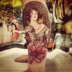 tatoueuse paris Caroline Karenine