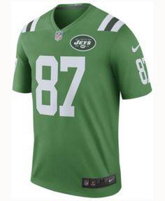 Nike Men's Eric Decker New York Jets Legend Color Rush Jersey - Green XXL