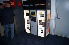Amazon Sets Up Vending Machine to Sell Kindle Tablets And eReaders
