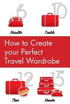 Get your free packing e-book on TravelFashionGirl.com How to Create Your Perfect Travel Wardrobe #travel #fashion