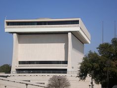 The Lyndon Johnson Presidential Library in Austin, Texas. Probably the ugliest of the presidential libraries.
