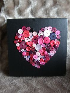 Button art Button canvas