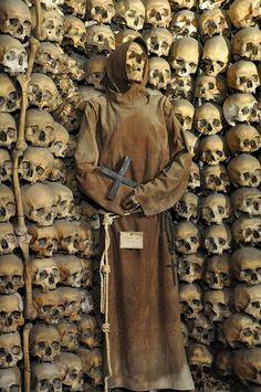 Capuchin Crypt by Benjamin Maljevec, via Flickr