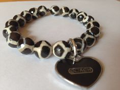 I+HEART+Coach+bracelet+by+CharmCandie+on+Etsy,+$20.00