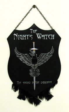 The Night's Watch - plaque by RFabiano on DeviantArt