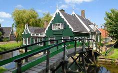 The Zaanse Schans ,in The Netherlands.