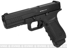 Pre-Order Estimated Arrival: 11/2014 --- APS ACP Full Metal CO2 Powered Airsoft GBB Gas Blowback Pistol with Extra Magazine