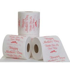 """Mother's Day Toilet Paper - """"Thanks for my first wipe!"""" #gaggift"""