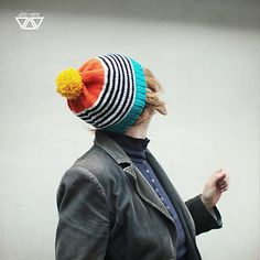 diEnes / veľmi veča, knit hat