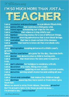 :-) So true.. teacher-stuff