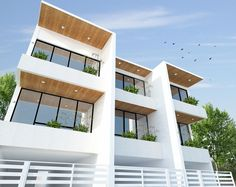Live In Style, Townhouse, Architecture Design, Stairs, Mansions, Street, House Styles, Projects, Home Decor