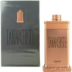 Caron L'Anarchiste masculine fragrance by Caron. The scent was launched in 2000 and the fragrance was created by perfumer Richard Fraysse. The bottle was designed by Serge Mansau L'Anarchiste fragrance notes      Top Notes         Orange Blossom,         Mandarin,     Heart Notes         Cedar Leaves,         Sandal,         Vetiver,         Cedarwood     Base notes Musk