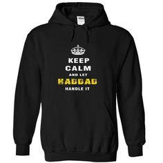 HADDAD Handle it - #baby gift #gift friend. THE BEST => https://www.sunfrog.com/Automotive/HADDAD-Handle-it-sivdh-Black-Hoodie.html?68278