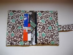Might just be my fav!   Floral Beachy Passport Wallet  Shipping by MissKellyMullen on Etsy, $12.00