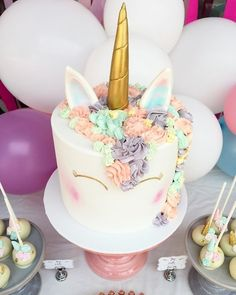 Read about Unicorn Cake by La Petite Pops from Guest of a Guest on January 08, 2017