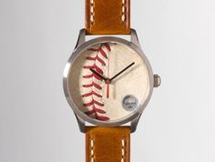 Boston Red Sox 2013 World Series Game Used Baseball Watch