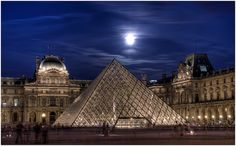 Louvre Pyramid,Paris - said hi to Mona Lisa and had some Laduree macaroons en route.