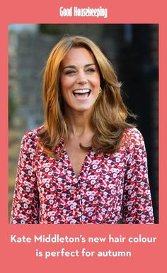 Kate Middleton Lightened Up Her Hair to a Warm Blonde Color Red Hair With Blonde Highlights, Golden Blonde Hair, Blonde Color, Brown Blonde, Hair Lights, Kate Middleton News, Kate Middleton Haircut, Hair Extensions Before And After, Hair Evolution