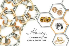 From gold earrings dripping with dewy crystals, to earthy amber hues, to funky honeycomb forms, these fresh styles are fit for a queen.
