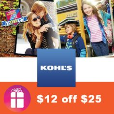 With the new 15% off coupon you can now take $12.25 off $25 Kids Clothing purchase at Kohl's - deal works thru Sunday, Aug. 18 http://freebies4mom.com/12off25/
