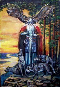 Svarog é conhecido na mitologia eslava como o deus sol e espírito de fogo, seu nome significa brilhante e claro. O nome também pode estar relacionado ao sânscrito Svarga e xwar persa, ambos significando a mesma coisa, ao menos é isso que indica a relação etimológica Indo-Europeia. Por lá, o fogo era tão sagrado que não podia xingar ou gritar enquanto ele estivesse iluminando.