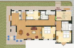 Floormap - Haus Jonghof Apartment 2&3 | Seefeld Apartments