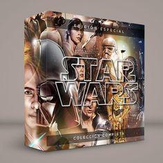 STAR WARS #ColeccionCompleta · Menú original · DVD Bs. 5.900 · BluRay Bs. 6.900 · Calidad garantizada · #Series #Películas #Retro #Actuales #Comics #Comiquitas #DVD #BluRay Si quieres una serie o película solo llámanos. Pedidos: 0414.402.7582 Presentación #BoxSet exclusiva de RetroReto. Edición Especial #RRDVDBR