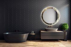 Imaterialul devine substanță, substanța devine imaterială… Emoțiile și materialele se contopesc pentru a reflecta o imagine mai profundă, oglindind emoții vizibile, tangibile, posibile…Liniile, materialele, culorile și designul se reunesc pentru a da frumusețe, unicitate și eleganță ambientului. Oglinzile din colecția Skyfall by Fabio Casali sunt realizate din oglindă de 4 mm grosime, fiind prevăzute cu sistem de fixare pe perete. De asemenea, este disponibilă și versiunea cu LED.
