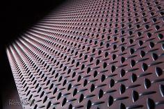 Checker plate steel production by - Paul Redding, Steel Mill Photographer Hobart Tasmania