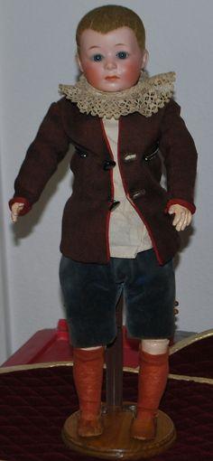 Gebruder Heubach Rare Character Boy  Doll