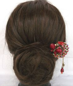 Oriental vintage style hair sticks/ hair pin/ Bridal by uniquedkz, $22.95