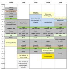 Förskollärarens nio steg för bättre koll på schema och planering | Lärarförbundet Behavior, Bar Chart, Calendar, Pictures, Behance, Bar Graphs, Manners