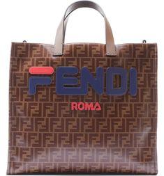 f8c189909502 Fendi x FILA Bag  Logo Tess Shopper